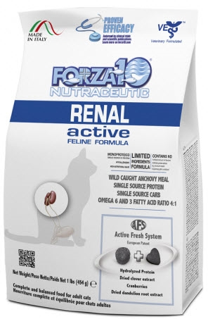 FORZA10 KIDNEY RENAL ACTIVE CAT 4LBS