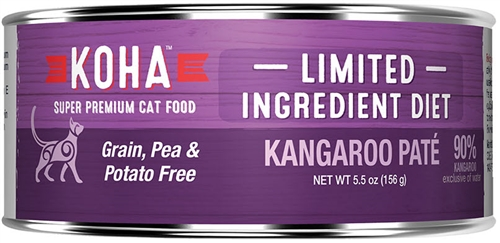 KOHA Wild Kangaroo Premium Grain Free Cat Food 5.5 oz can