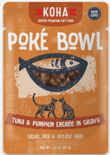 KOHA Poke Bowl Tuna & Pumpkin Entree in Gravy  3 OZ