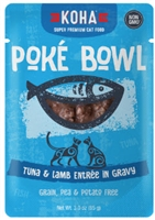 KOHA Poke Bowl Tuna & Lamb Entree in Gravy  12-3OZ