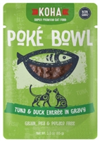 KOHA Poke Bowl Tuna & Duck Entree in Gravy  12-3 OZ