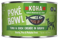 KOHA Poke Bowl Tuna & Duck Entree in Gravy  24-5.5 OZ