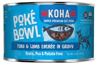 KOHA Poke Bowl Tuna & Lamb Entree in Gravy  24-5.5 OZ