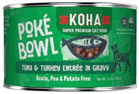 KOHA Poke Bowl Tuna & Turkey Entree in Gravy  24-5.5 OZ