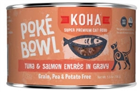 KOHA Poke Bowl Tuna & Salmon Entree in Gravy  24-5.5 OZ