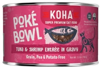 KOHA Poke Bowl Tuna & Shrimp Entree in Gravy  24-5.5 OZ