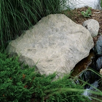 "CrystalClear TrueRock Sandstone  Medium Flat Covers 32""L x 26""W x 4""H"