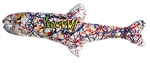 YEOWWW!  CATNIP POLLOCK FISH CAT TOY