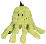 HuggleHounds Octo-Knotties Citron Toy for Dogs