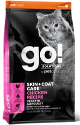 GO! SOLUTIONS SKIN + COAT CARE Chicken Recipe for Cats - Petcurean Pet Nutrition