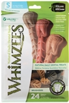 Whimzees BRUSHZEES SMALL 15-25 Lbs 7-12 KG  24 count