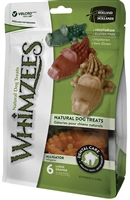 WHIMZEES Alligator Large Dental Treats for Dogs, 6 pack