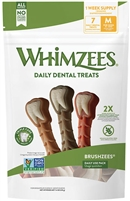 WHIMZEES PUPPY MEDIUM LARGE ALL NATURAL DAILY DENTAL,  14 COUNT