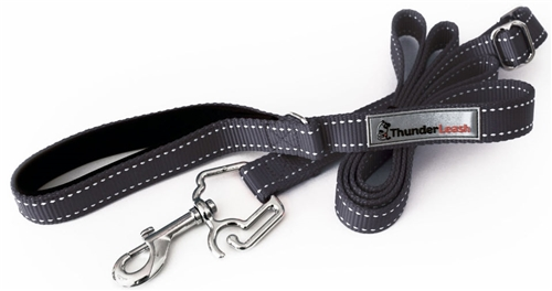 Thunder Leash - BLACK small Leash 12-25 lbs