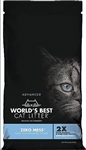 WORLD'S BEST STRESS LESS WITH ZERO MESS CAT LITTER 6 LB