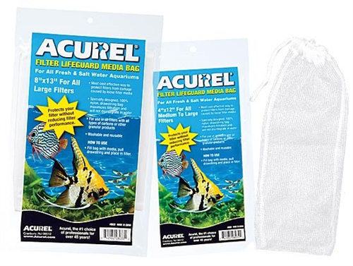 Acurel Nylon Drawstring Media Bags  8x13