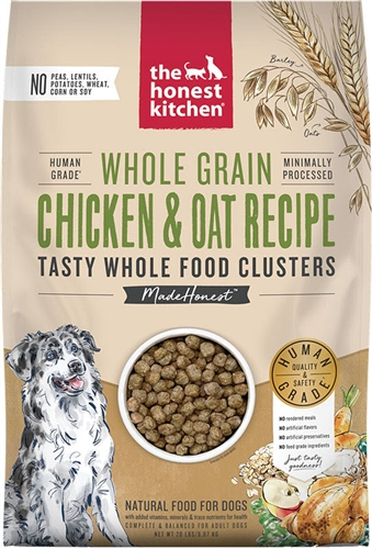 The Honest Kitchen WHOLE FOOD CLUSTERS - WHOLE GRAIN CHICKEN, 20 LBS