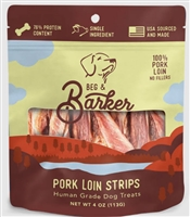 BEG & BARKER Pork Loin Strips 4 OZ