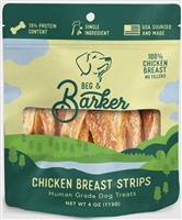 BEG & BARKER Chicken Breast Strips 4 OZ