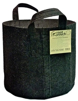 ROOT POUCH 10 gallon Black Breathable Pot with Handles