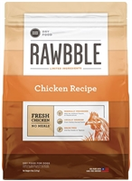 Bixbi Pet RAWBBLE Dry Dog Food Chicken Recipe 4 lbs