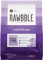 Bixbi Pet RAWBBLE Dry Dog Food Lamb Recipe 4 lbs
