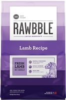 Bixbi Pet RAWBBLE Dry Dog Food Lamb Recipe 24 lbs