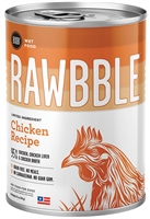 Bixbi Pet RAWBBLE Wet Dog Food Chicken Recipe 12-12.5 oz cans