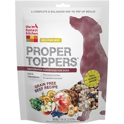 The Honest Kitchen Beef Proper Toppers for dogs