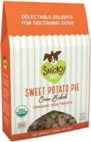 Snicky Snaks SWEET POTATO PIE Baked Organic Treat 10 oz