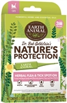 EARTH ANIMAL NATURE'S PROTECTION FLEA & TICK SPOT-ON FOR CATS 3 month