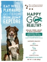Happy Go Healthy Dog Joint & Skin Support Supplement 1.5 lbs