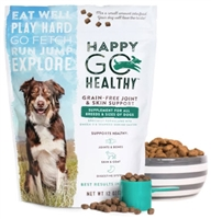 Happy Go Healthy Dog Joint & Skin Support Supplement 3 lbs