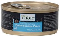 NATURE'S LOGIC CAT SARDINE FEAST  24 - 5.5 oz cans