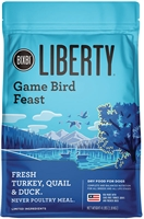 BIXBI PET Liberty Dry Dog Food - GAME BIRD FEAST 4 lbs