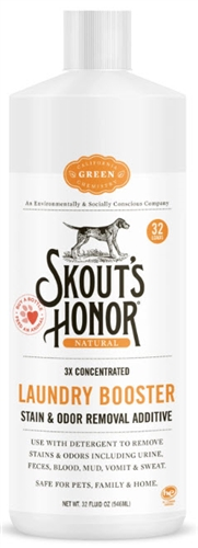 SKOUT'S HONOR LAUNDRY BOOSTER - STAIN & ODOR REMOVAL ADDITIVE 32 oz