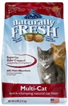Blue Buffalo Naturally Fresh Multi-Cat Clumping Litter