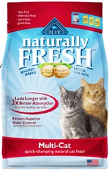 Blue Buffalo Naturally Fresh Multi-Cat Clumping Litter  14 LBS