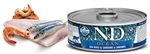 Farmina N&D Ocean Feline Sea Bass, Sardine & Shrimp Cans 12 2.8 oz
