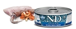 Farmina Pet Foods - Cat food - N&D Ocean feline - Sea Bass, Squid & Shrimp Adult wet food