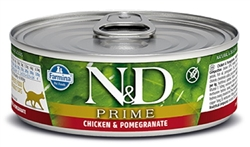 Farmina Natural & Delicious Prime Feline Chicken & Pomegranate Cans