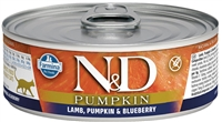 Farmina Pumpkin Lamb, Pumpkin & Blueberry Recipe for cats 12-2.8 oz