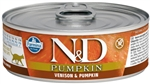 Farmina Natural & Delicious Venison, Pumpkin & Apple Cans  Cat Food