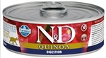 Farmina Natural & Delicious Digestion Quinoa Lamb Recipe for Cats Cans  12- 2.8 oz