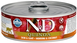 Farmina Pet Foods - Cat food - N&D Quinoa Functional Feline - Urinary wet food
