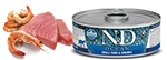 Farmina Pet Foods - Cat food - N&D Ocean feline - Tuna & Shrimp Adult wet food