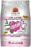 WERUVA Tea Potty Litter with Hinoki Wood & Green Tea for Cats 11.7LB