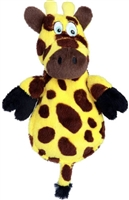 HEAR DOGGY! Flat  Giraffe Large Dog Toy
