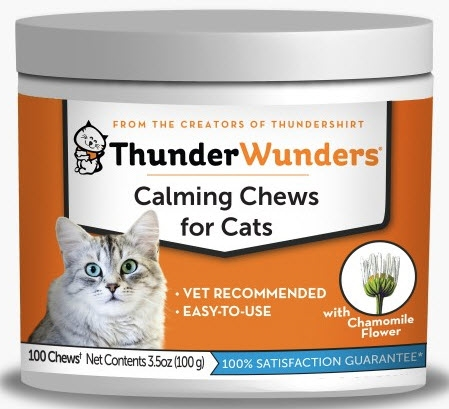 THUNDERWUNDER CAT CALMING CHEWS 100 COUNT