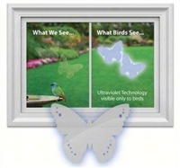 Window Alert Butterfly Decal (4 per package)
